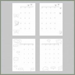 The Bull Island Discbound Bujo Yearly Planner